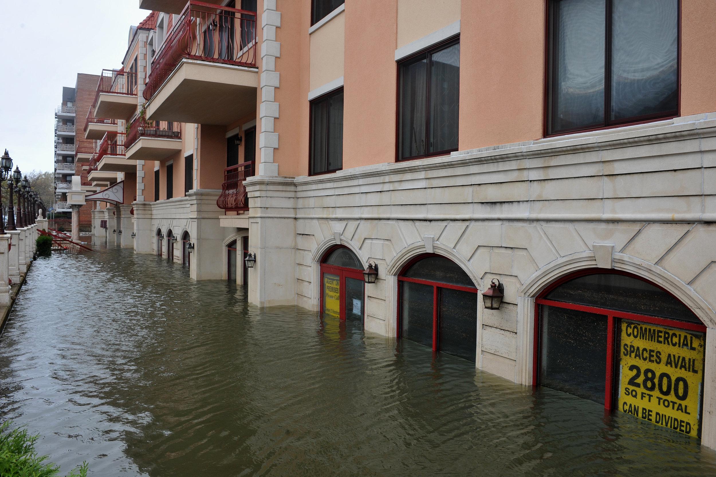 Hurricane Sandy, Brooklyn, 2012. Credit: Shutterstock.com