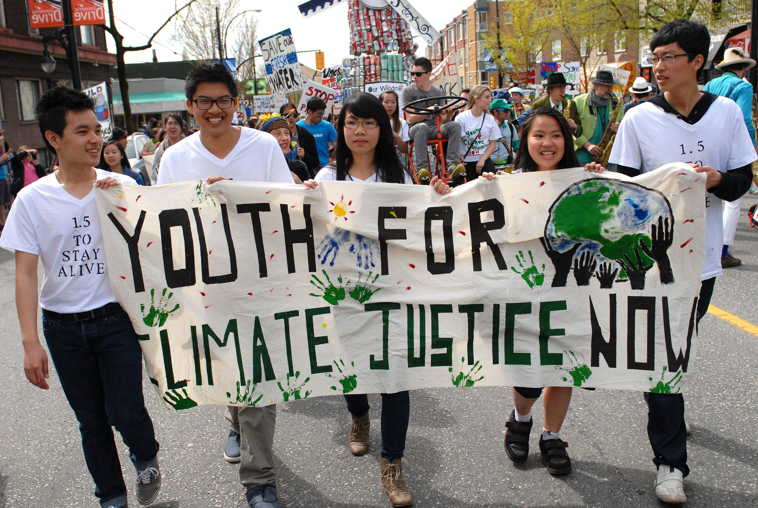 Earth Day 2012, Vancouver, BC. Editorial credit: / Shutterstock.com