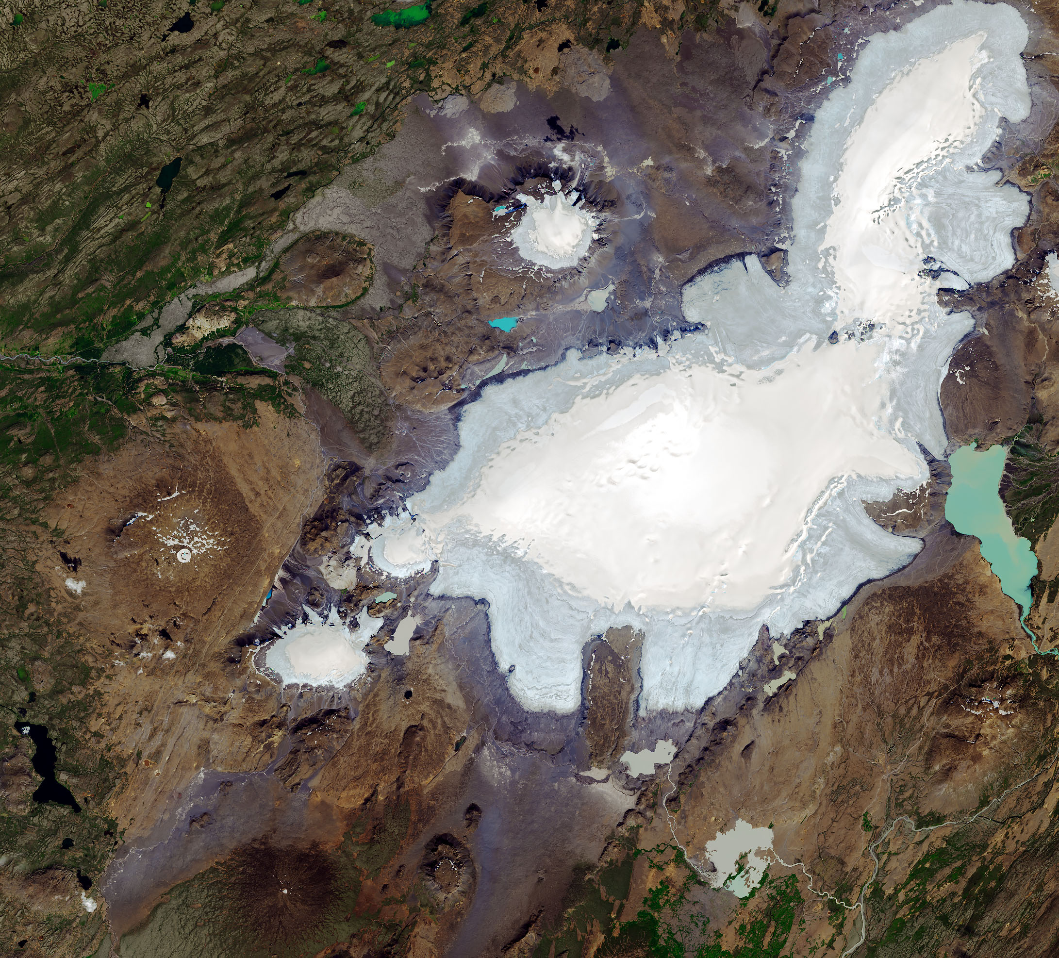 Iceland's sixth largest glacier is now just a glacial lake. What will happen when all the ice disappears from Iceland?