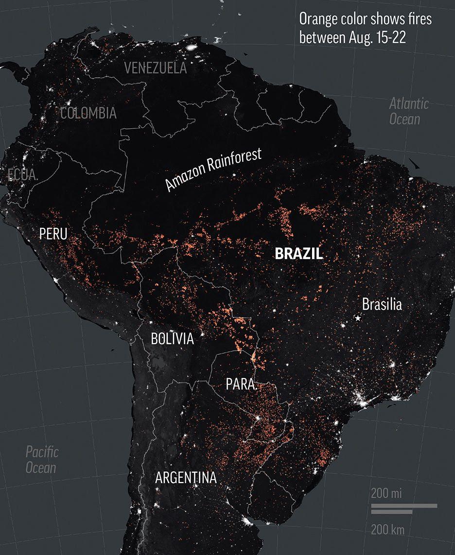 Amazon fires respect no national boundaries!