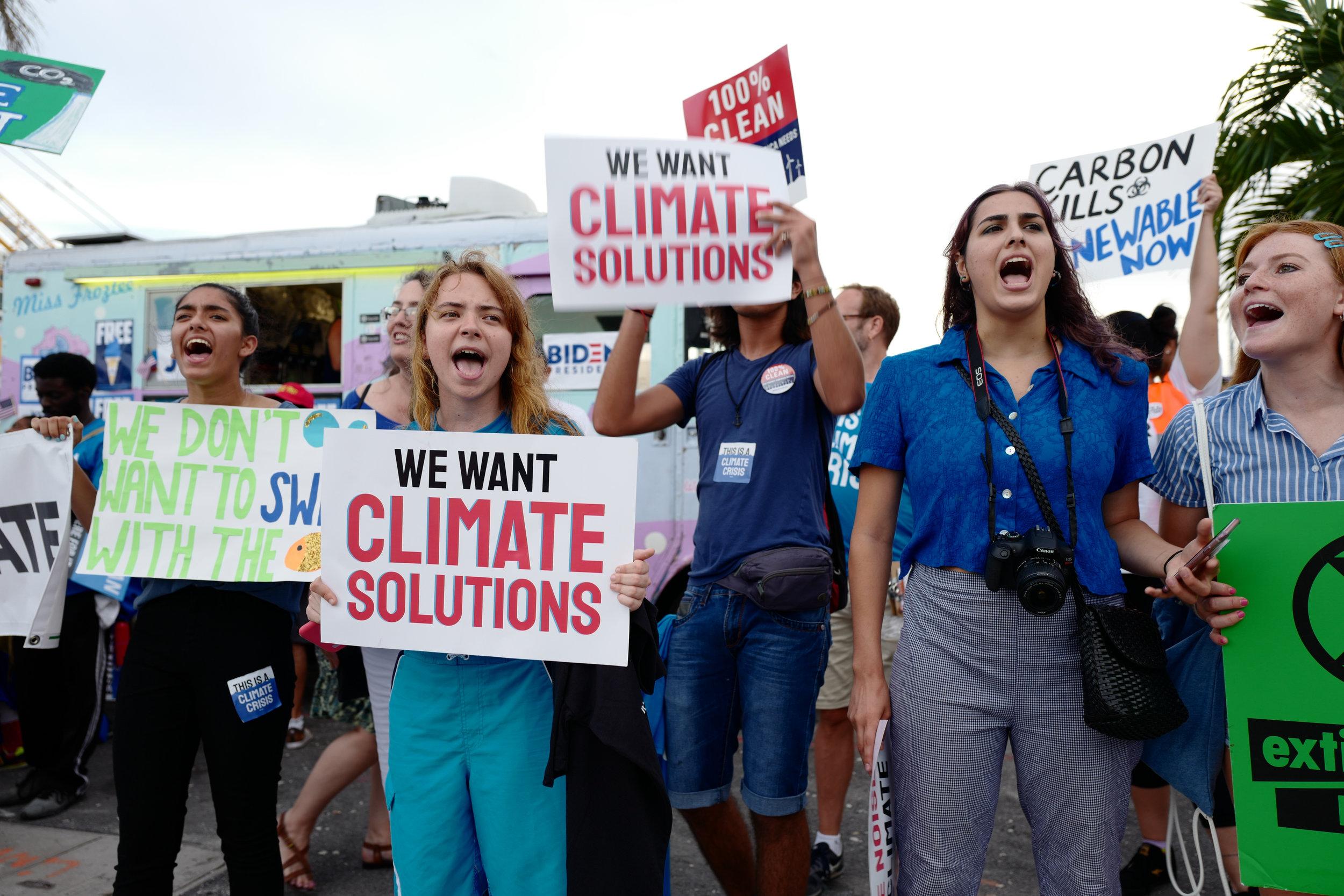 Climate demonstration, Miami, June 2019. Credit: Shutterstock.com