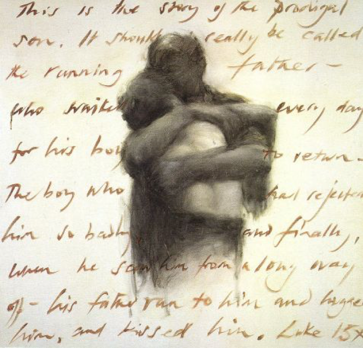 """The Prodigal Son"" by Charlie Mackesy"