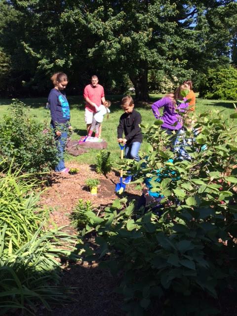 Spring Garden Planting - May 7, 2017