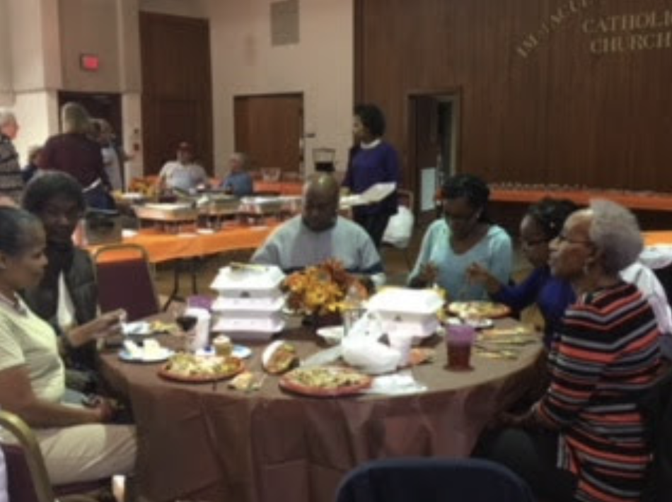 Parish Thanksgiving Dinner 2017 -