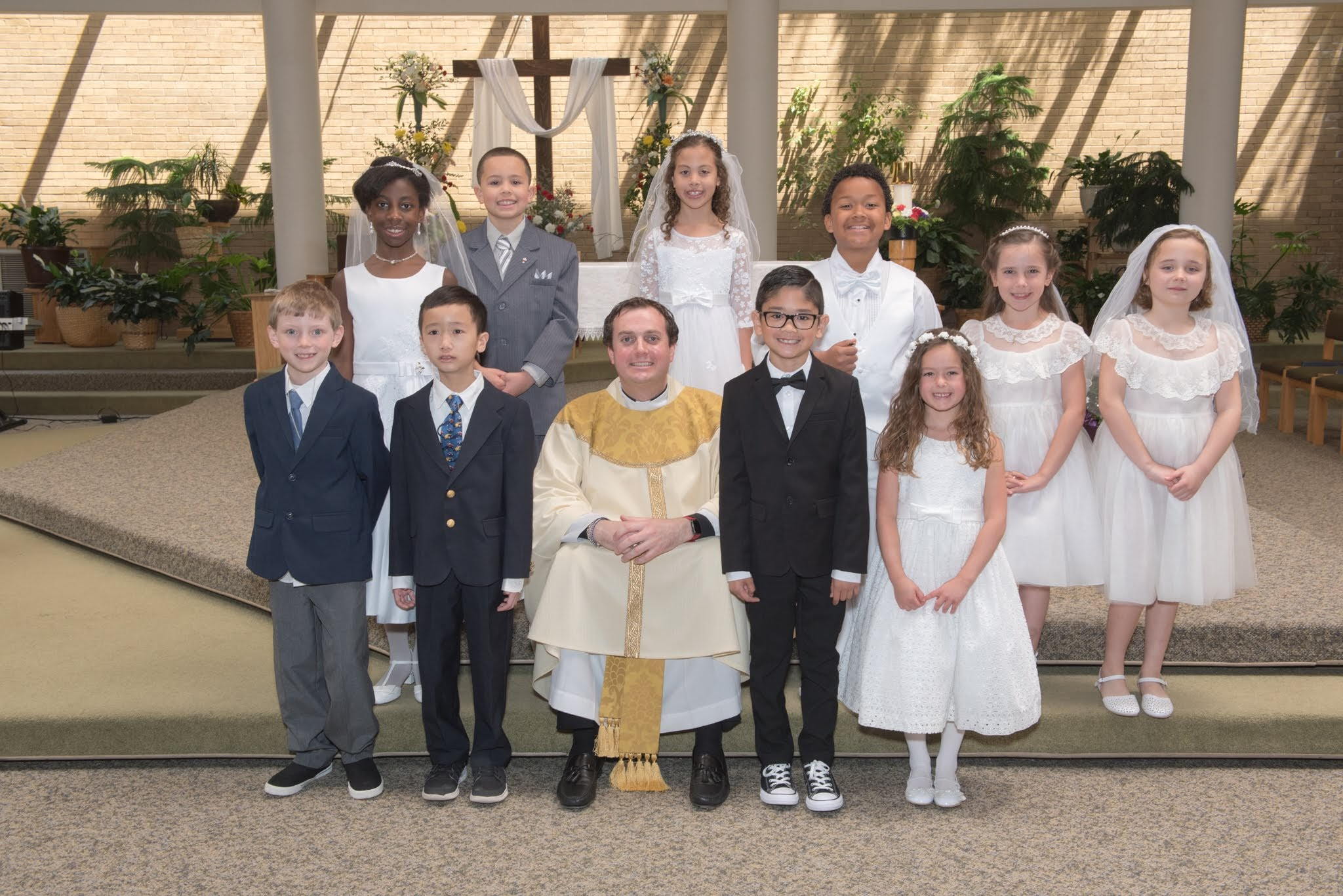 First Communions 2018 - April 29, 2018