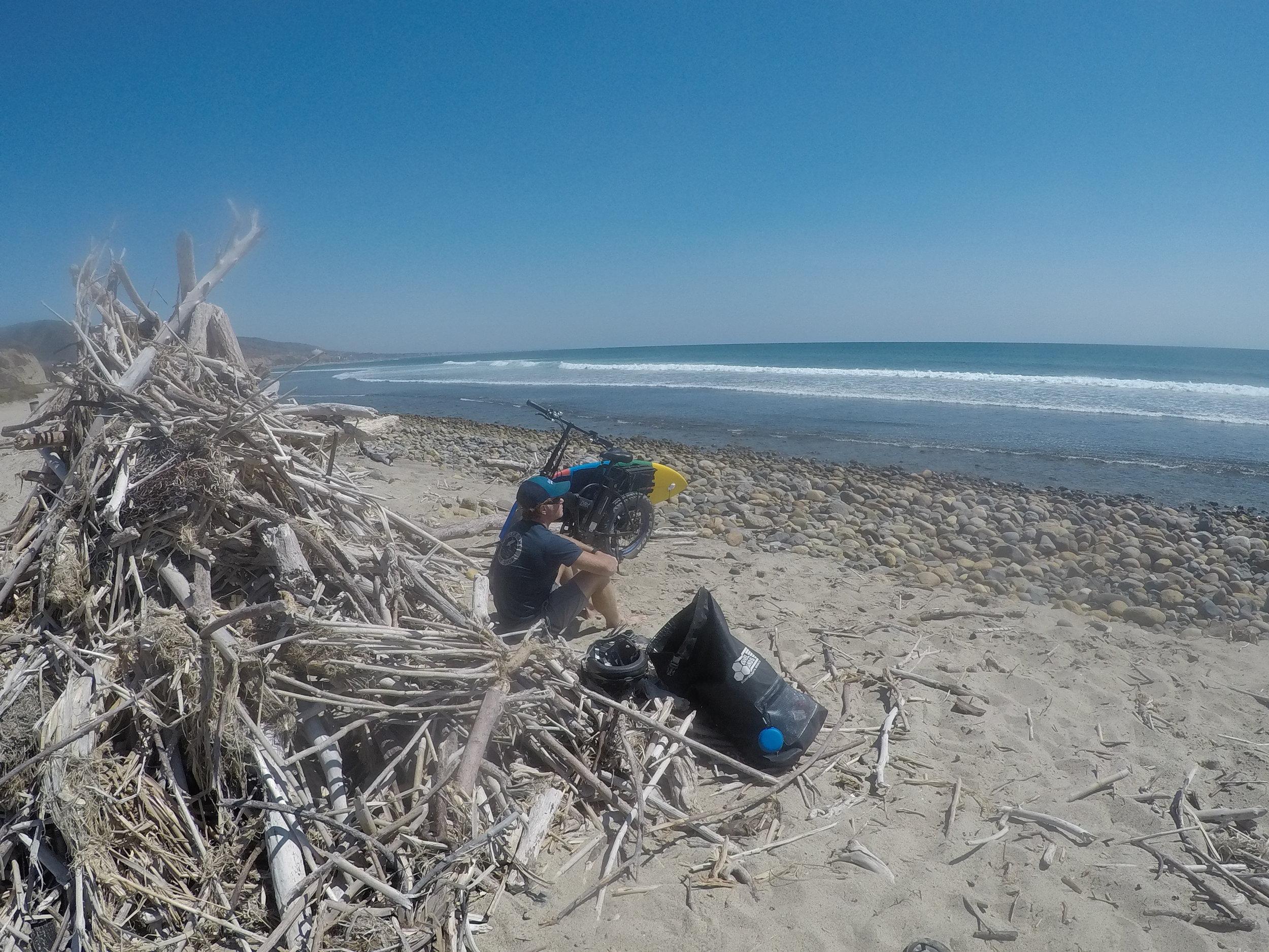 Eric Mike Jones Surf Electric Bike water beach surf boardsGOPR0934 (1).JPG