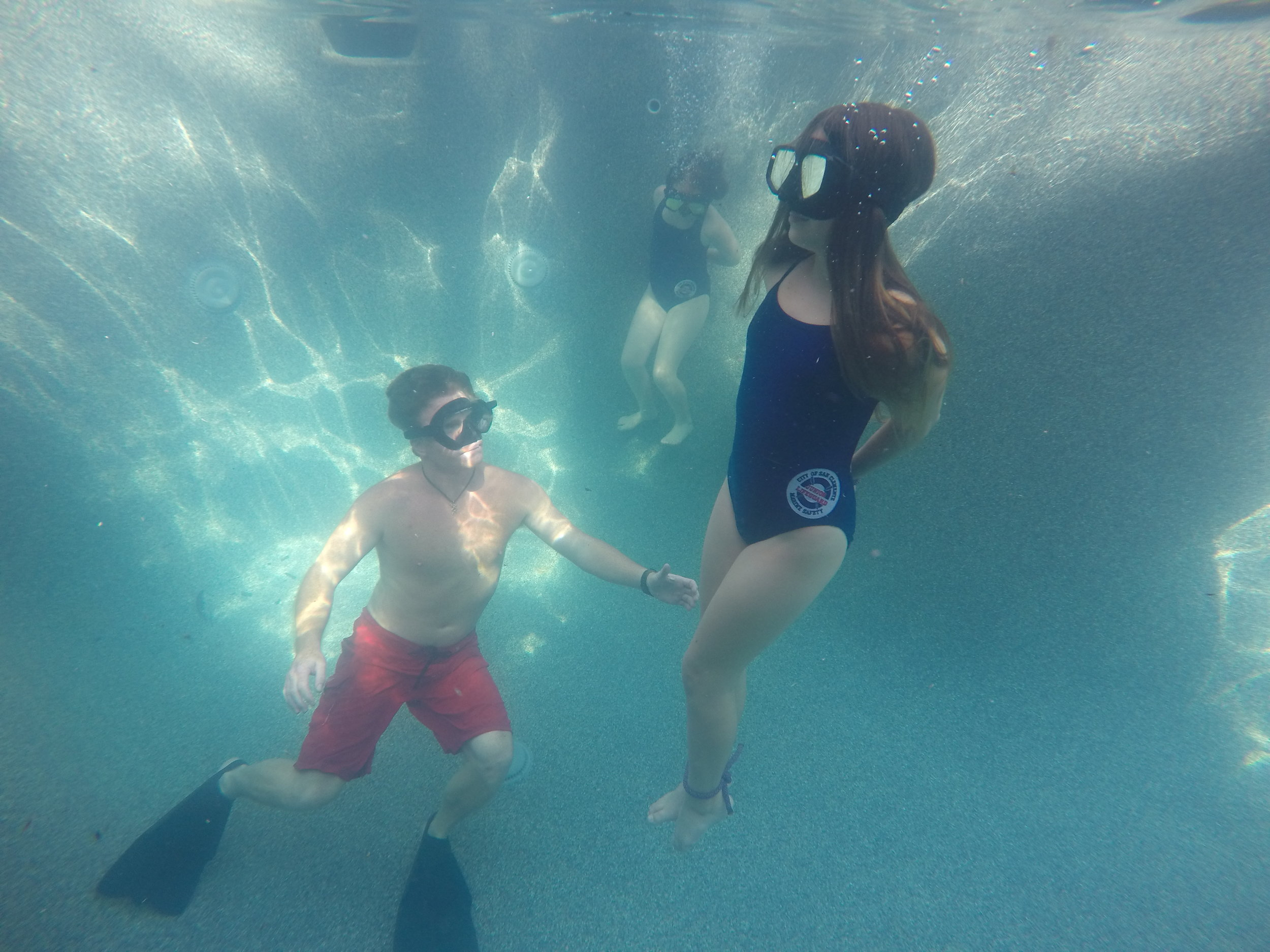 Water Under Drown Proofing seal pup water ella lea eric GOPR0857.JPG