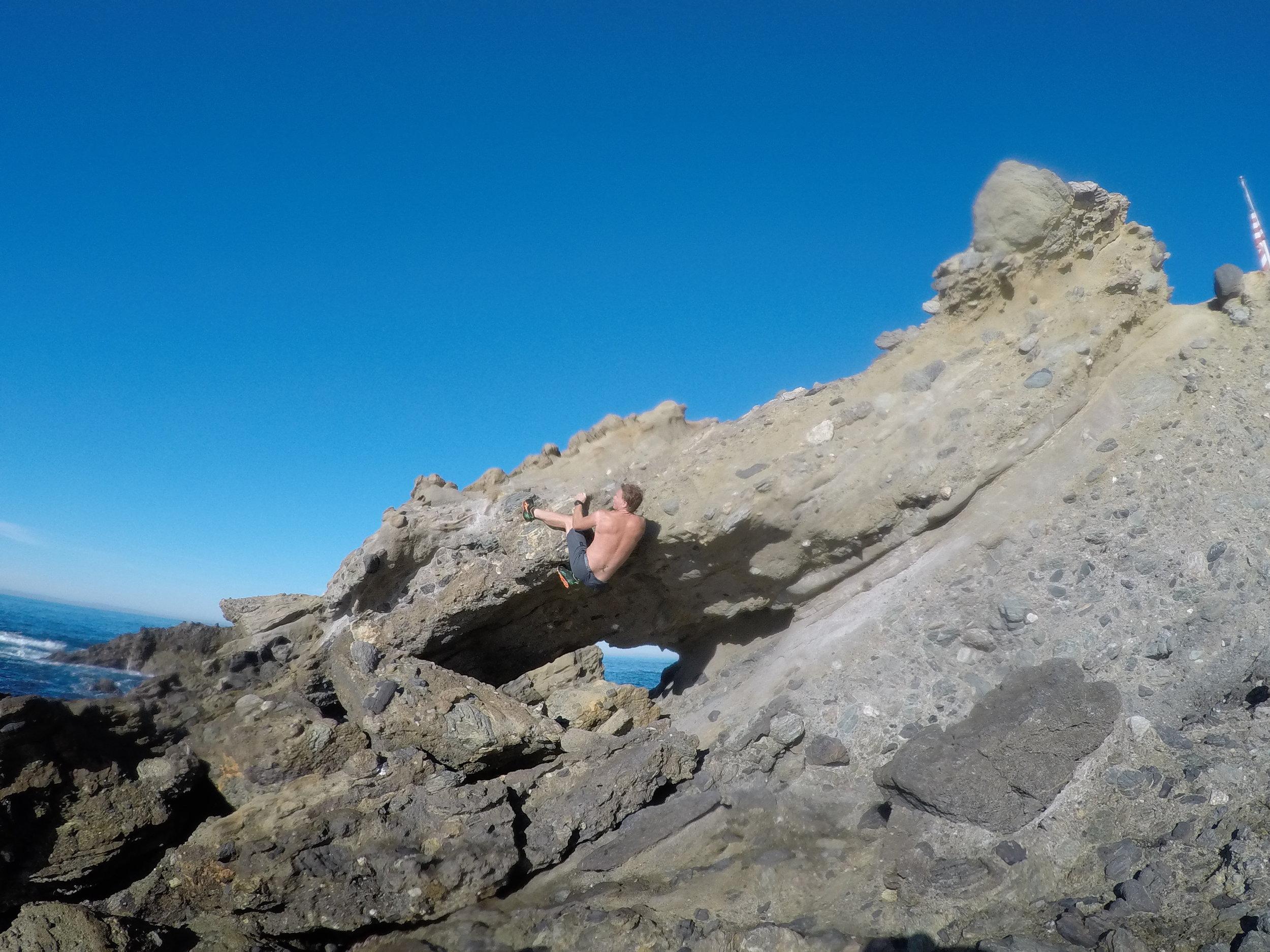 Eric climbing oean water active GOPR1429.JPG