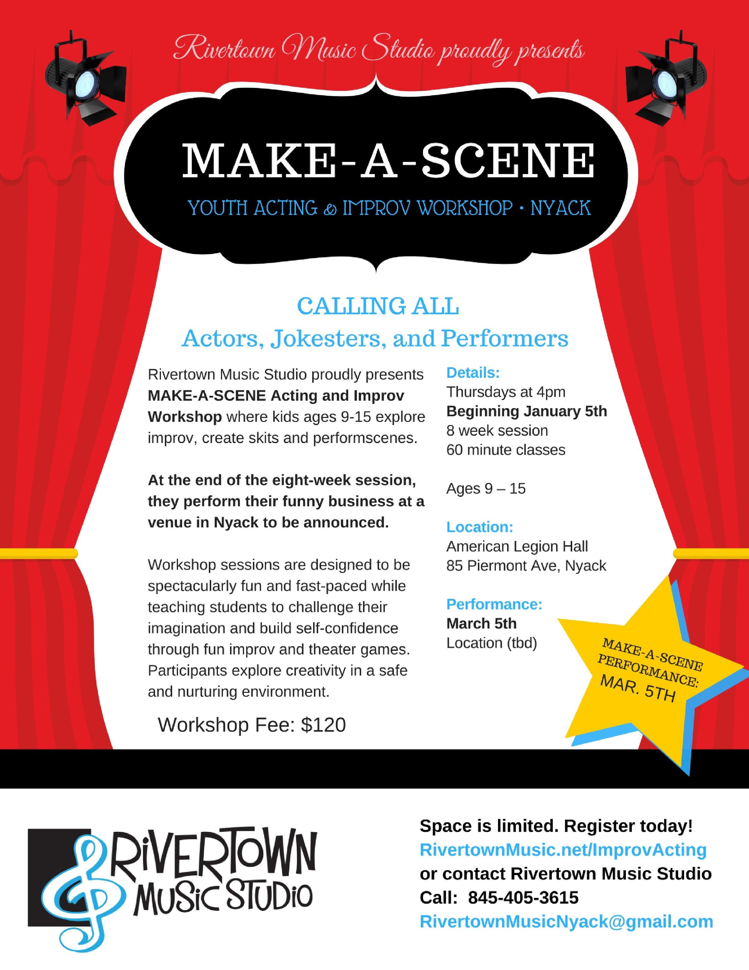 2017 Make-A-Scene Flyer