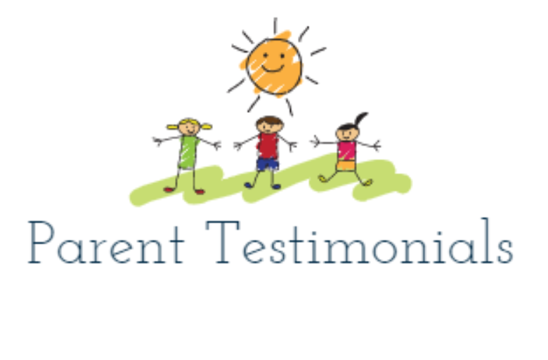 Thank you, parents, for your feedback! -