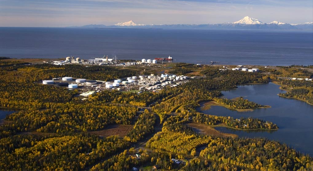 NIKISKI    is an oil and gas town, with on-shore production facilities and offshore drilling platforms in Cook Inlet. The community's more than 4,000 residents mostly work in and around this industry, and the discovery of oil on the peninsula in 1957 is what led Nikiski to grow from a small homesteading community to what it is today. Nikiski boasts an enviable location adjacent to Captain Cook State Recreation Area on Alaska's Kenai Peninsula and enjoys views of several dormant volcanoes from town.