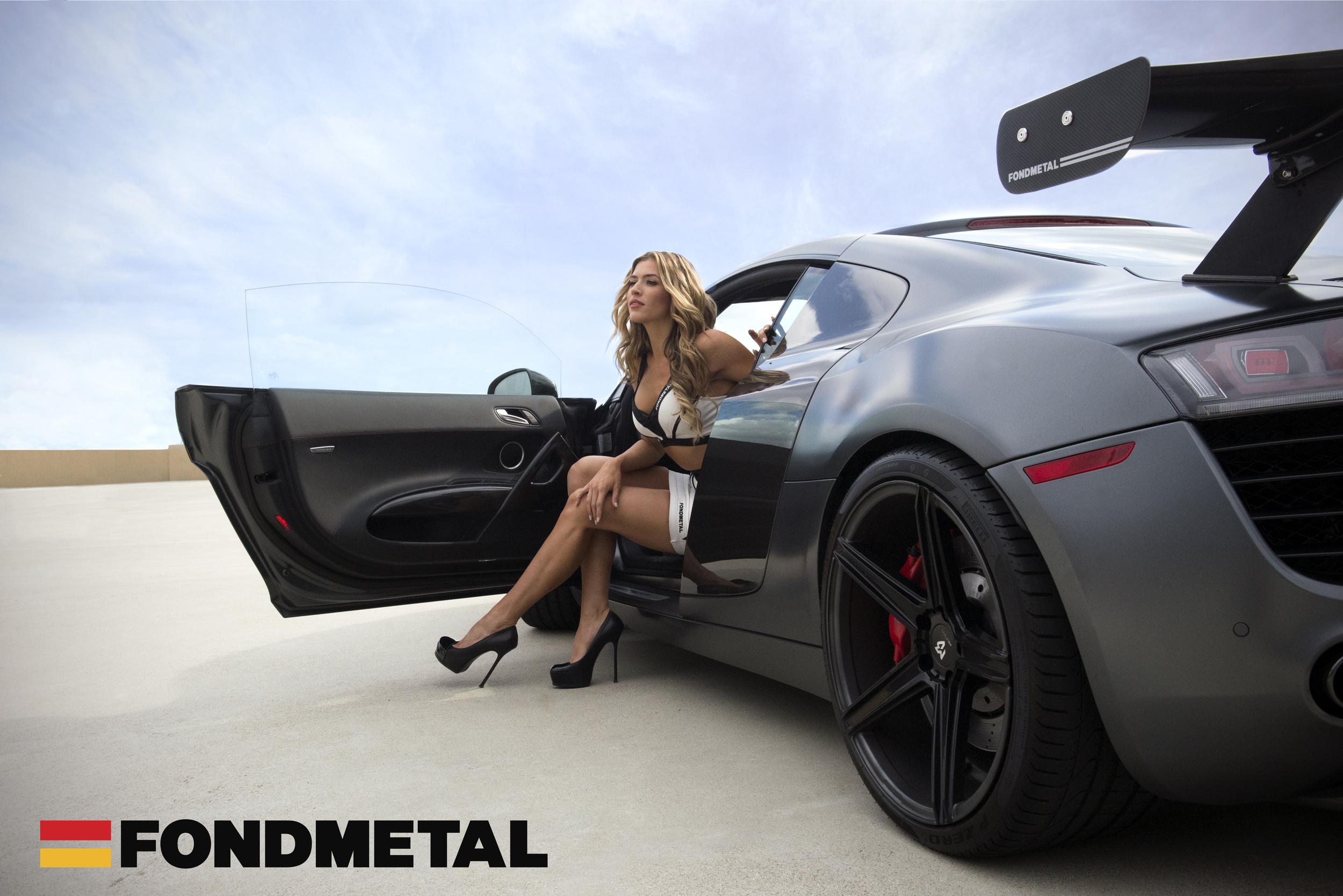Audi-R8-Fondmetal-KV1-Black-Wheel-Model