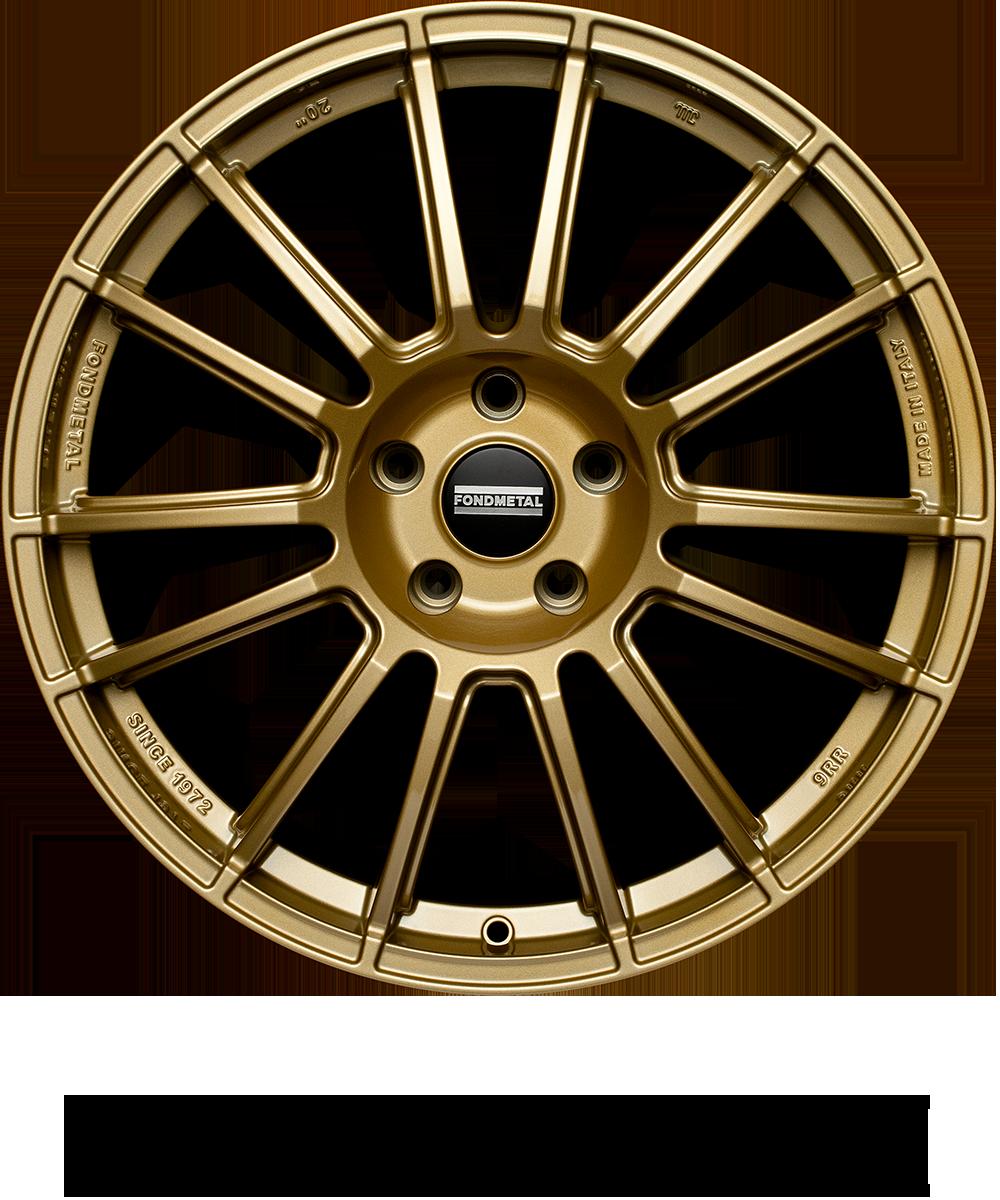 Light Italian alloy wheel fit for performance passenger car applications