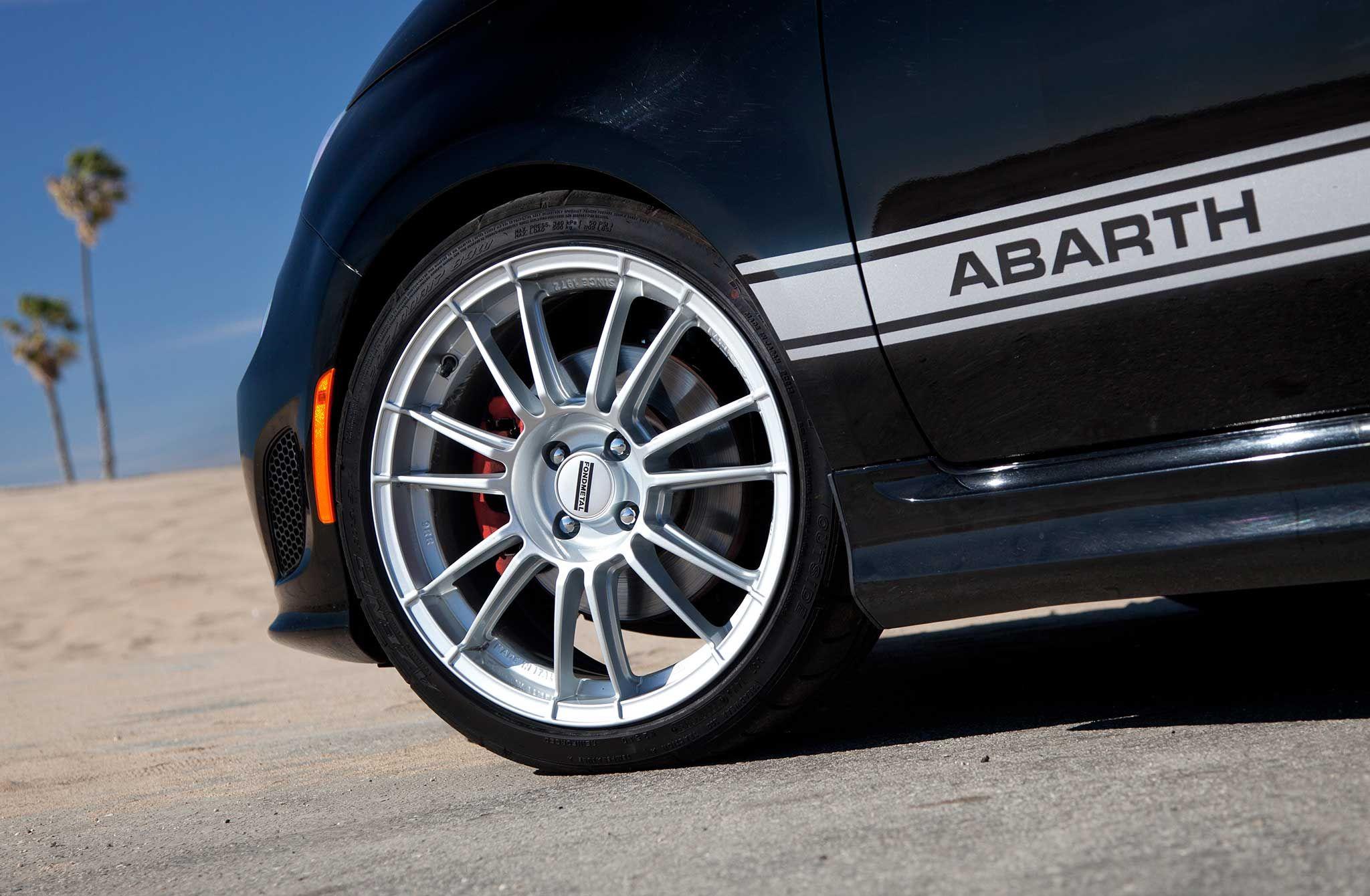 Fiat Abarth Fondmetal 9rr Wheels