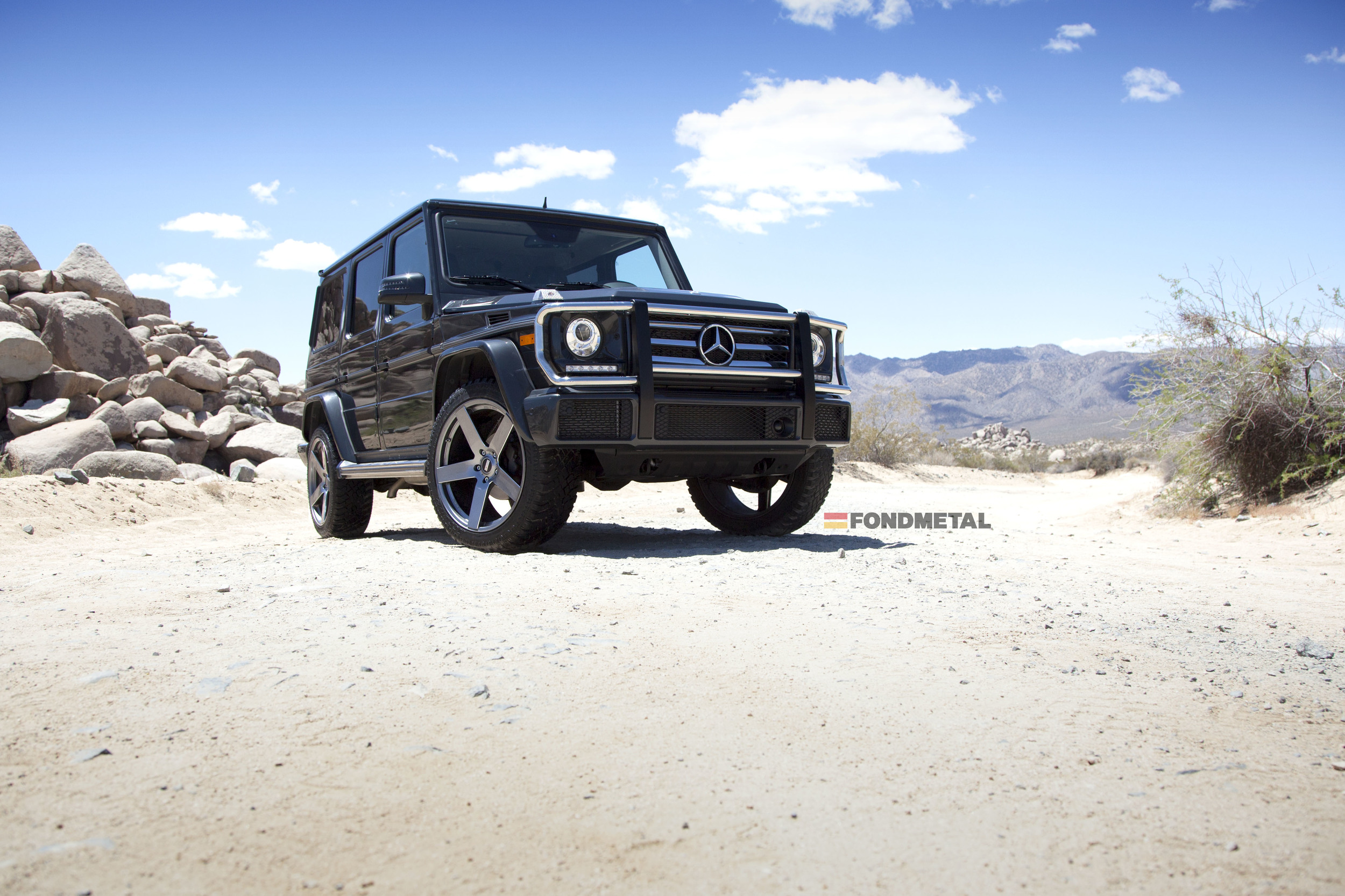 Mercedes-Benz G Wagon Fondmetal STC-02