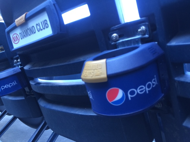 Stadium Cup Holder Advertising