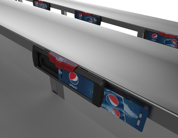 Branded Seats™ Bleacher Display