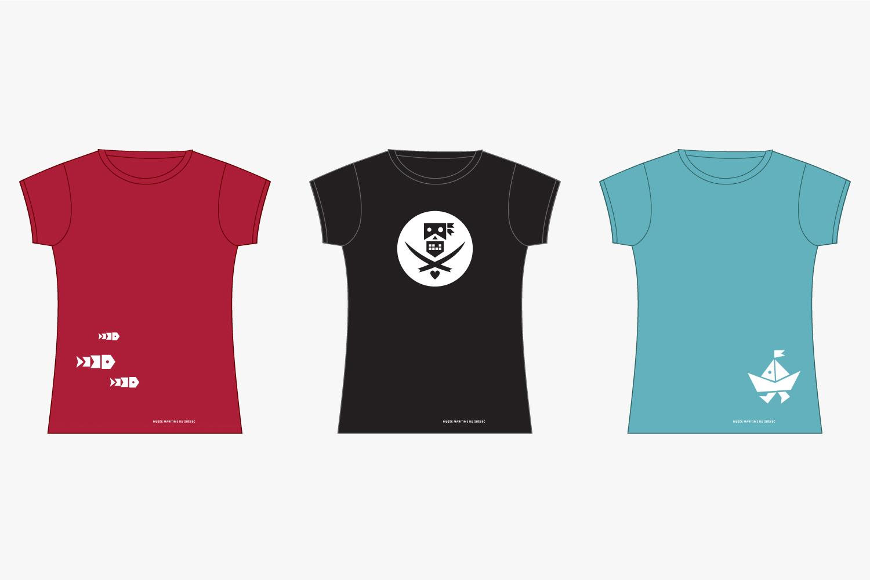 MMQ – Musée maritime du Québec – Identity & Illustration (t-shirts) by Isabelle Robida – Infrarouge [Design & Culture] – 2007 / 2011 – infrarouge.ca