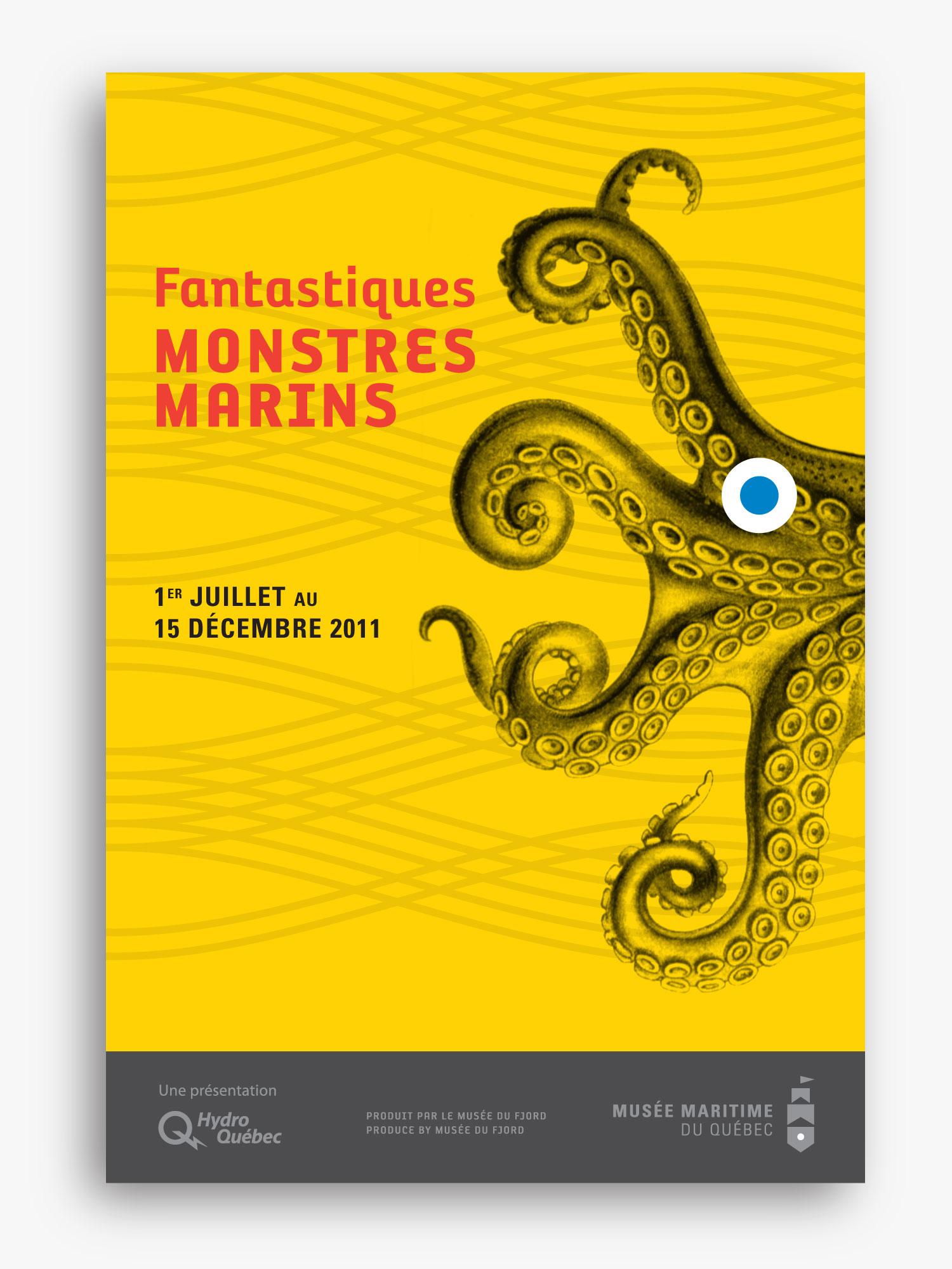MMQ – Musée maritime du Québec – Identity & Poster by Isabelle Robida – Infrarouge [Design & Culture] – 2007 / 2011 – infrarouge.ca