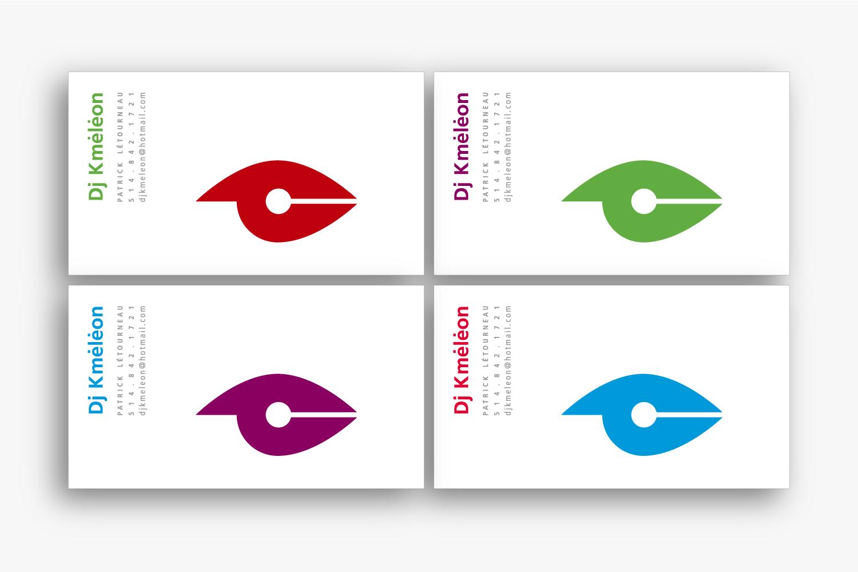 Dj Kméléon – Identity, Print design & Typography by Isabelle Robida – Infrarouge [Design & Culture] – 2000