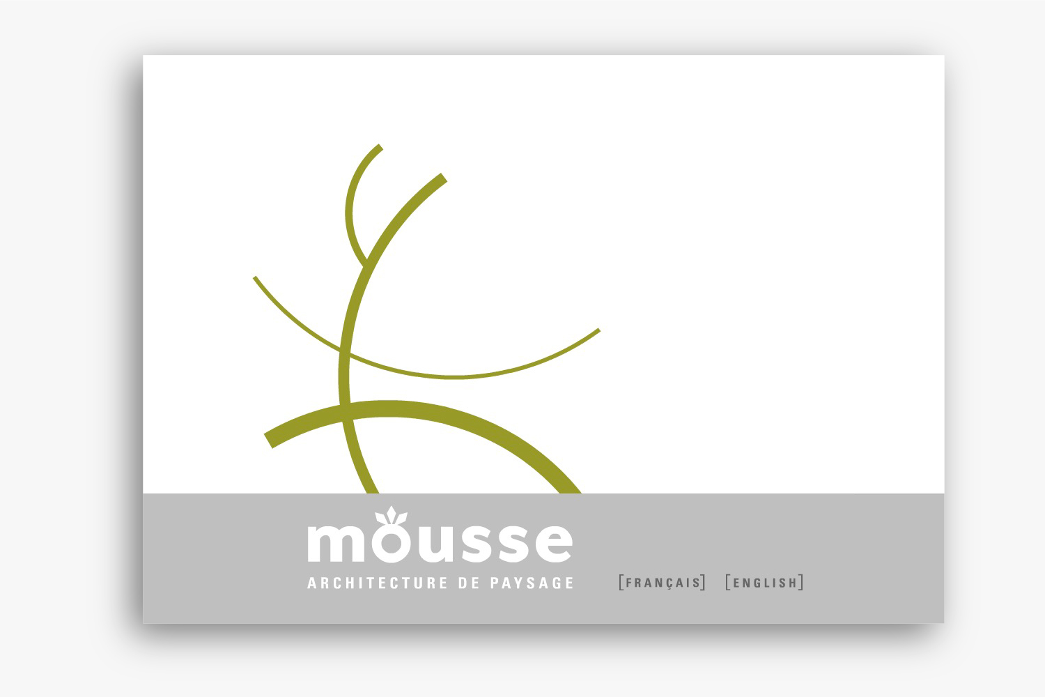 Mousse architecture de paysage - Site Web