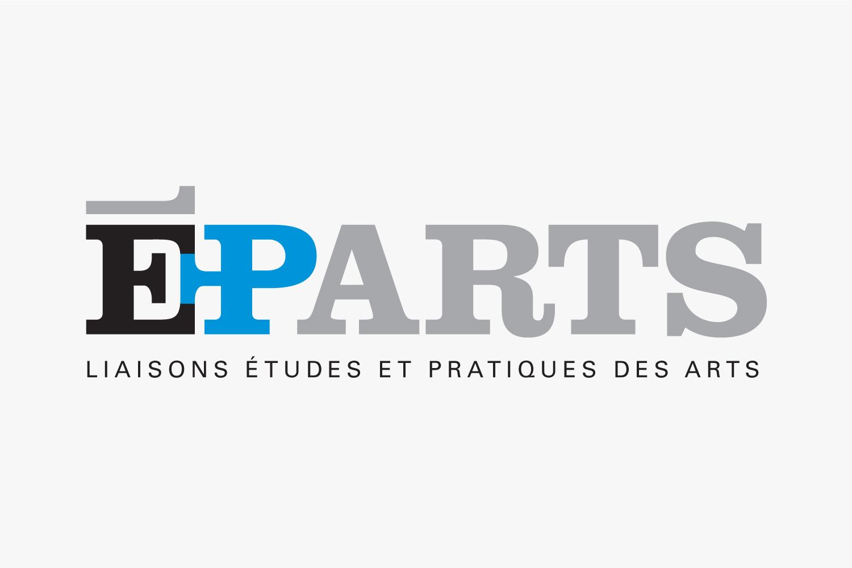 ÉPARTS – Art Magazine Design – Identity, Edition & Typography by Isabelle Robida – 2006 – isabellerobida.com