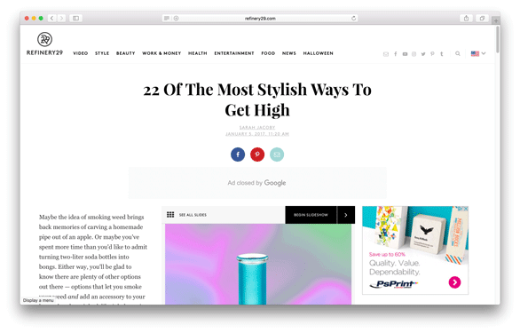 Refinery 29 - 22 Of The Most Stylish Ways To Get High