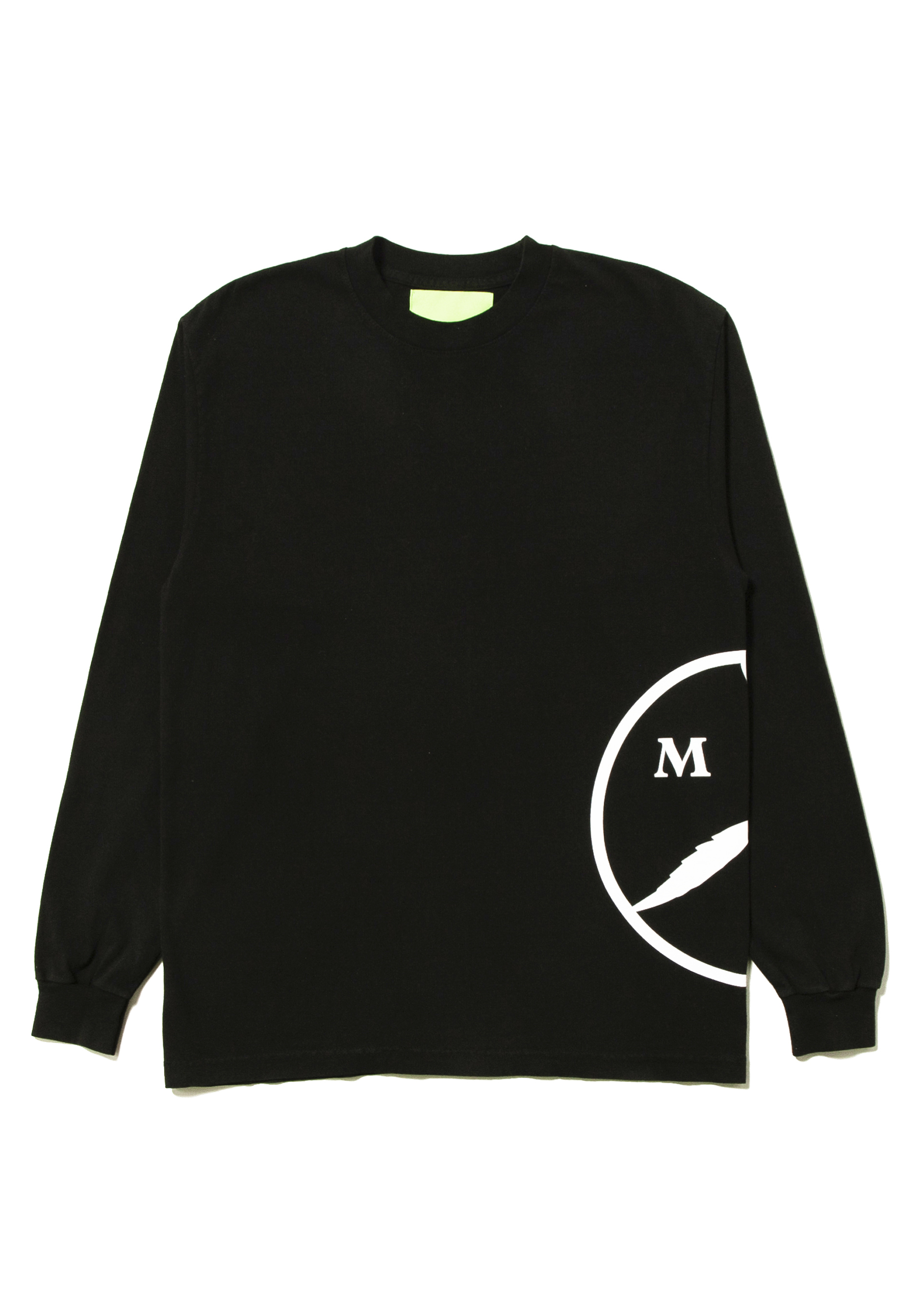 4521a8755 Mister Green - Peace/Sun Side L/S Tee - Black — Mister Green Life Store