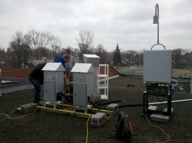 Field audit of particulate sampling
