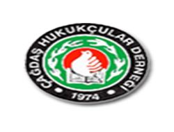 The image in this article is the logo of the Progressive Lawyers'Association (ÇHD).