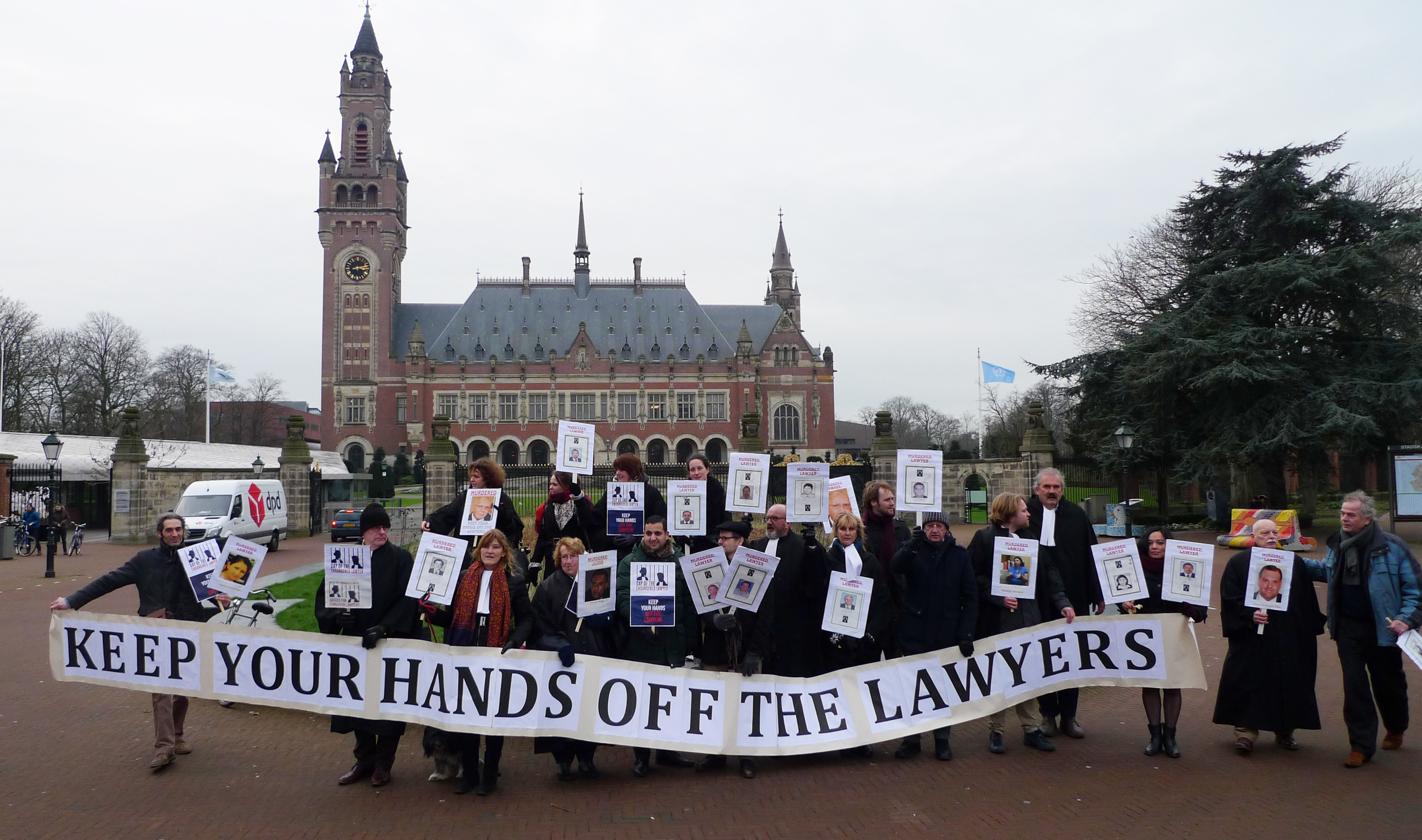 Protest in The Hague