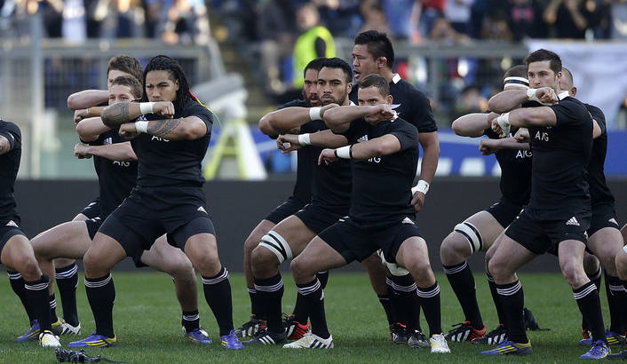 The 'haka,' a Maori war dance performed by the All Blacks at the beginning of games, is a meaningful, respectful nod to New Zealand's history.   REAd  about  What Rugby Can Teach US About Honoring Indigenous Culture.