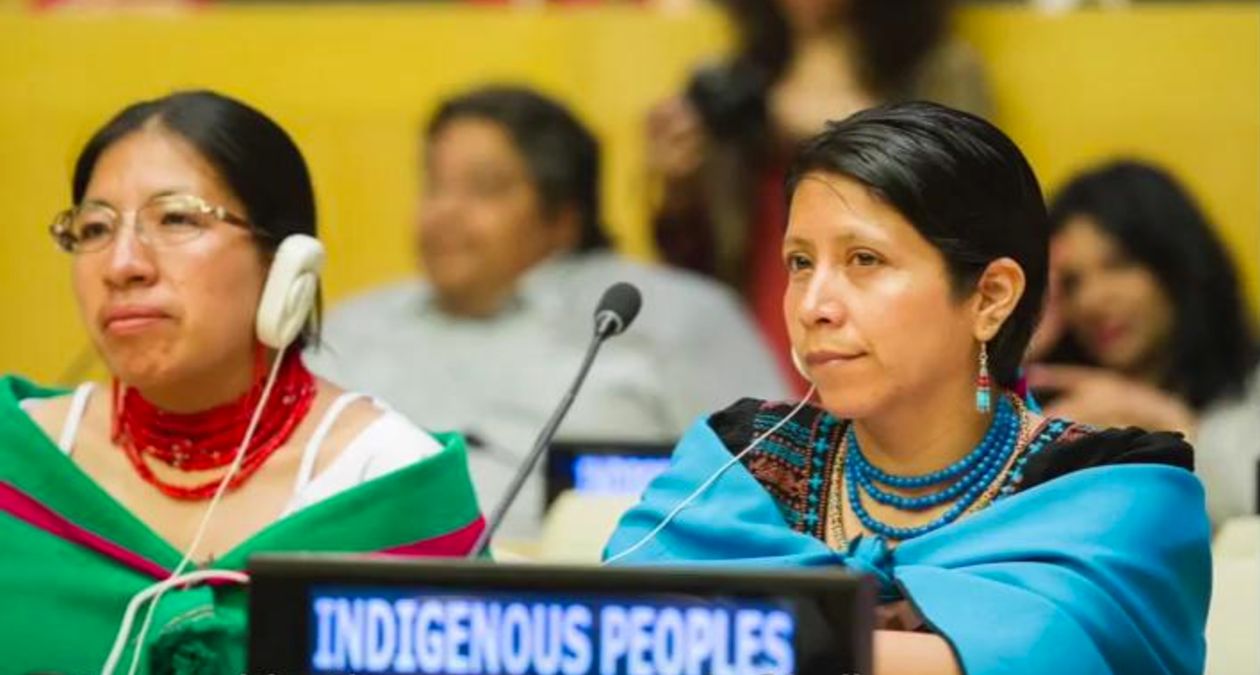 you will find international indigenous stories on issues from across the globe:   HEre.