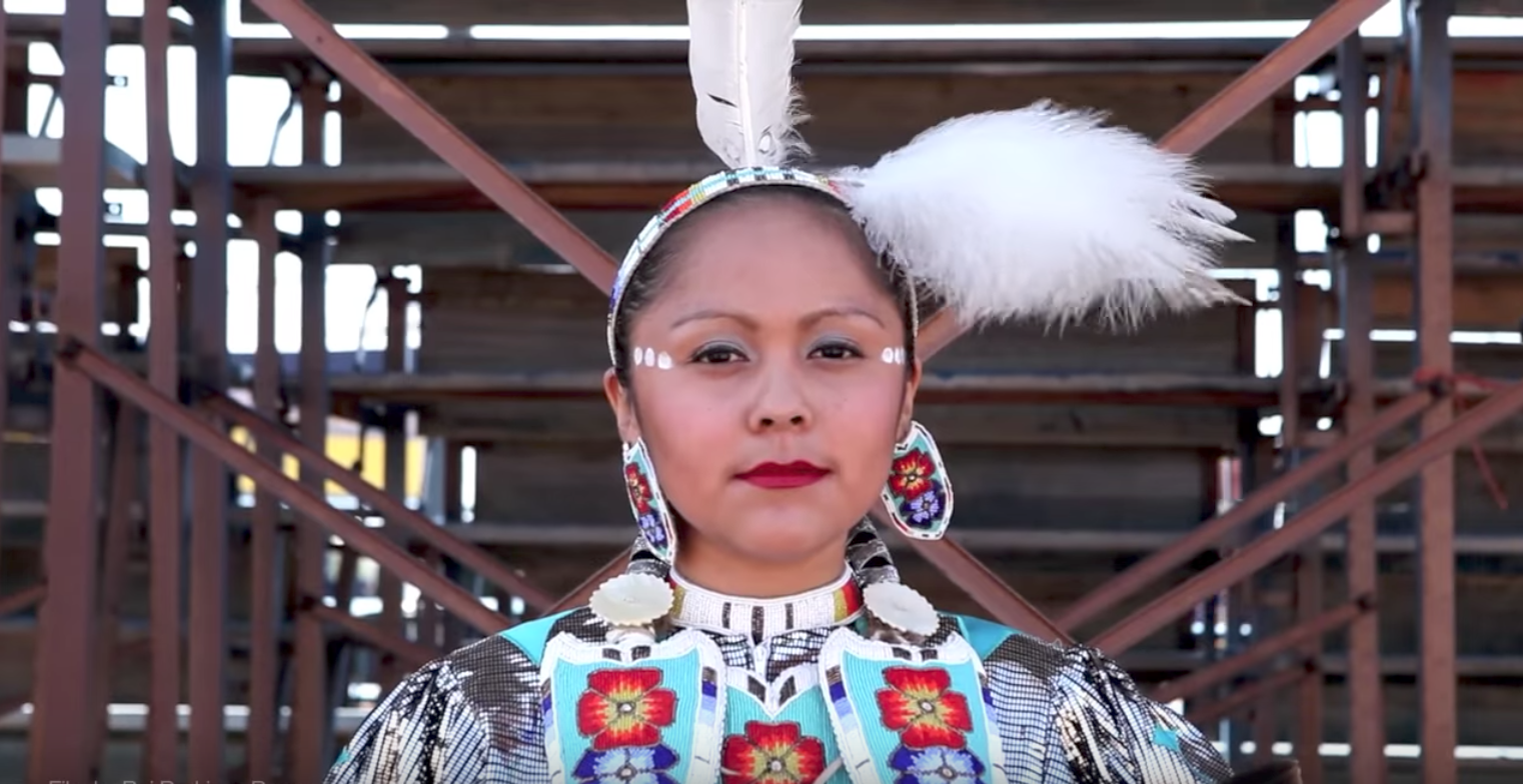 watch  : the ad made by the national congress for american indians to protest racist mascot names.