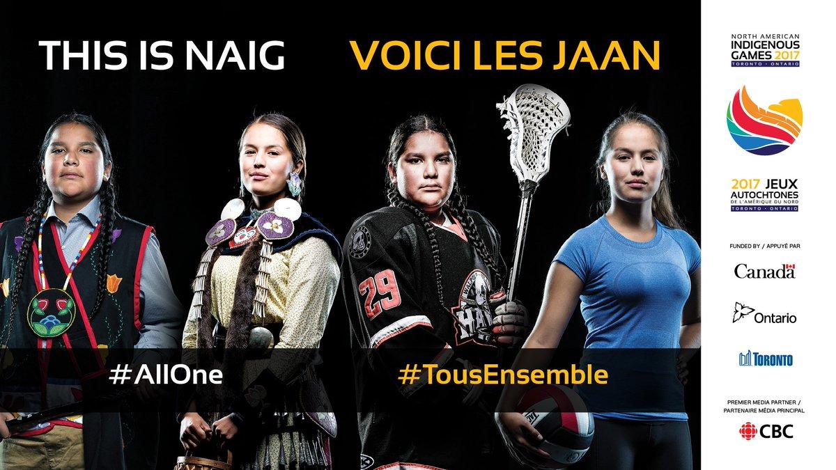 Les Jeux autochtones de l'Amérique du Nord de 2017 à Toronto (JAAN) devraient être le plus grand rassemblement sportif et culturel des peuples autochtones en Amérique du Nord et accueilleront plus de 5000 athlètes. Visiter     le Site   .