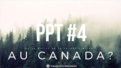 Qu'en est-il de la réconciliation au Canada