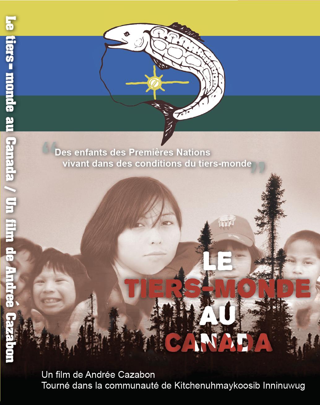 'Le Tiers-Monde au Canada' - Vous aurez accès au film, Le Tiers-monde au Canada avec le lien ci-dessous. Nous vous demandons de vous assurer d'avoir visionné le film avant de le présenter à vos élèves.Version sous-titrée en français du film: '3rd World Canada'Durée: 30 minuteshttps://vimeo.com/298206476/ce5e2b8a8fMot de passe: 3wc1234
