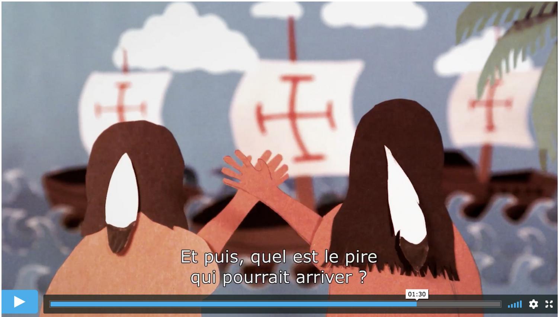 Le film de l'artiste Steven Paul Judd 'Premier Contact' - Version sous-titrée en français du film: 'First Contact'https://vimeo.com/244342657
