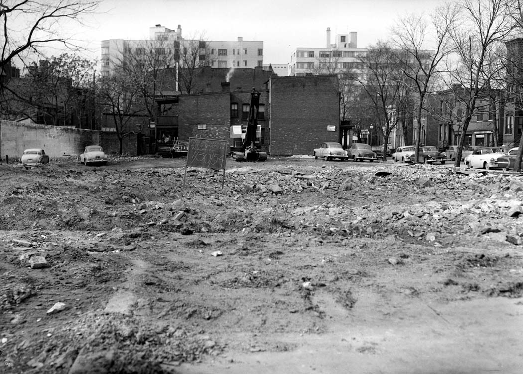 1954-01-30 FBC lot cleared A-BW - source archives - neg & print.JPG