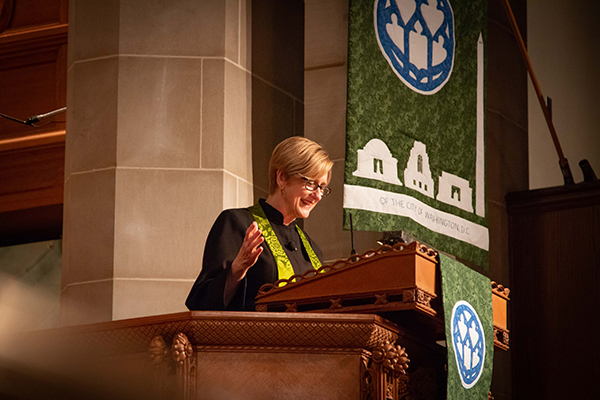 julie in pulpit.jpg