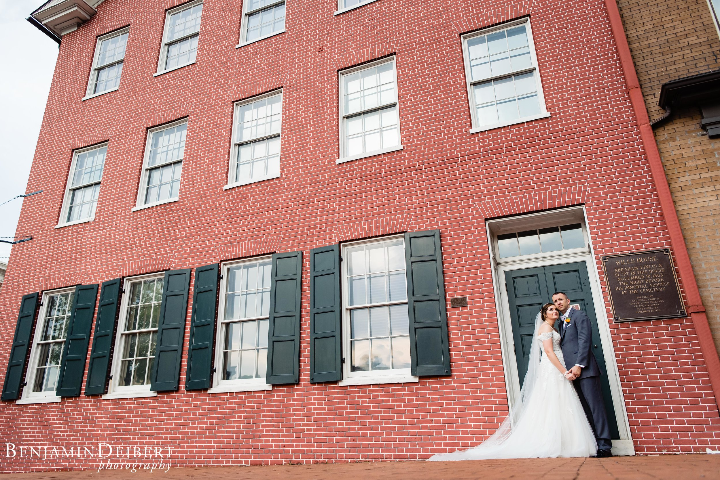 Meighan and Michael_Gettysburg Hotel Train Station_Wedding-5.jpg