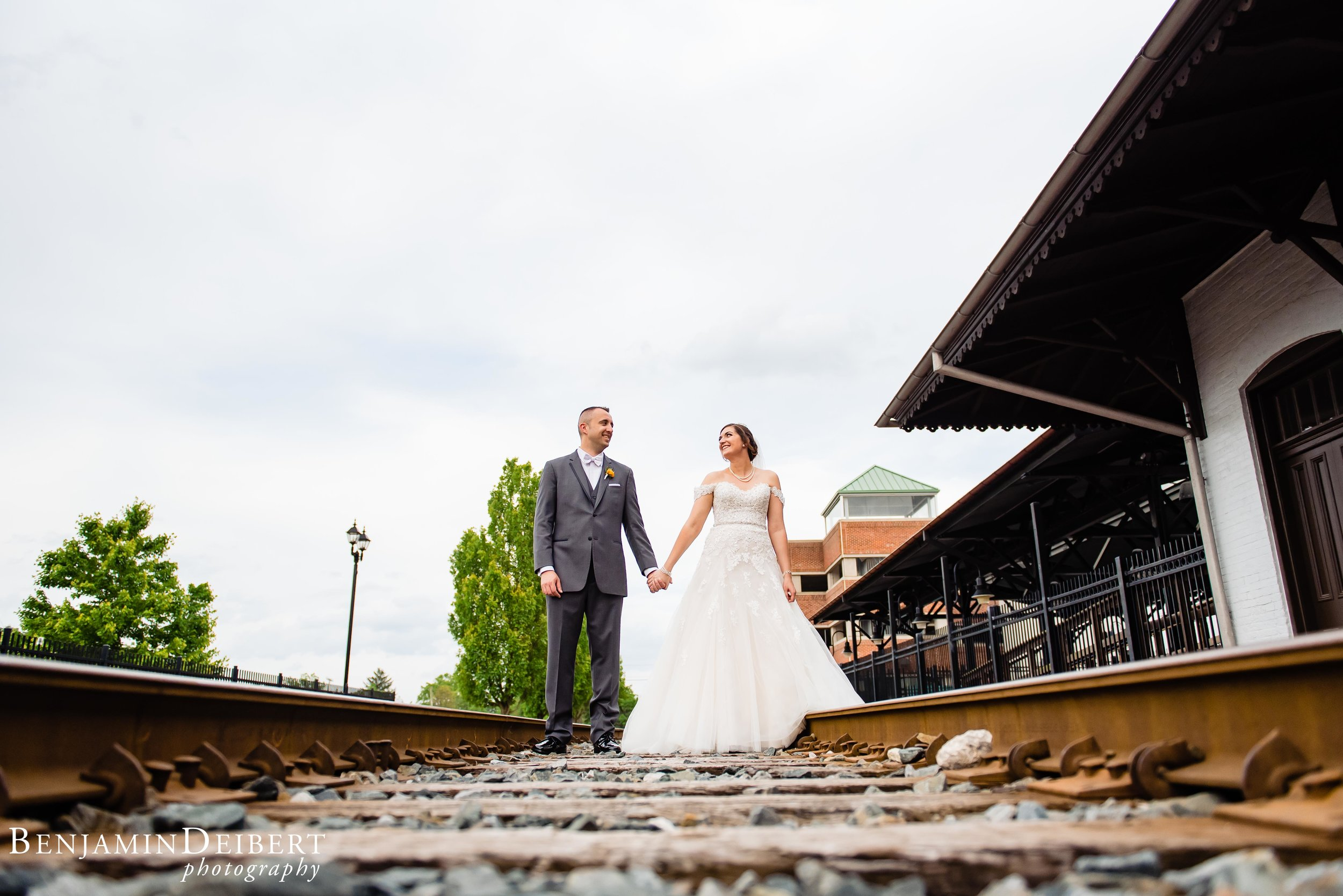 Meighan and Michael_Gettysburg Hotel Train Station_Wedding-4.jpg
