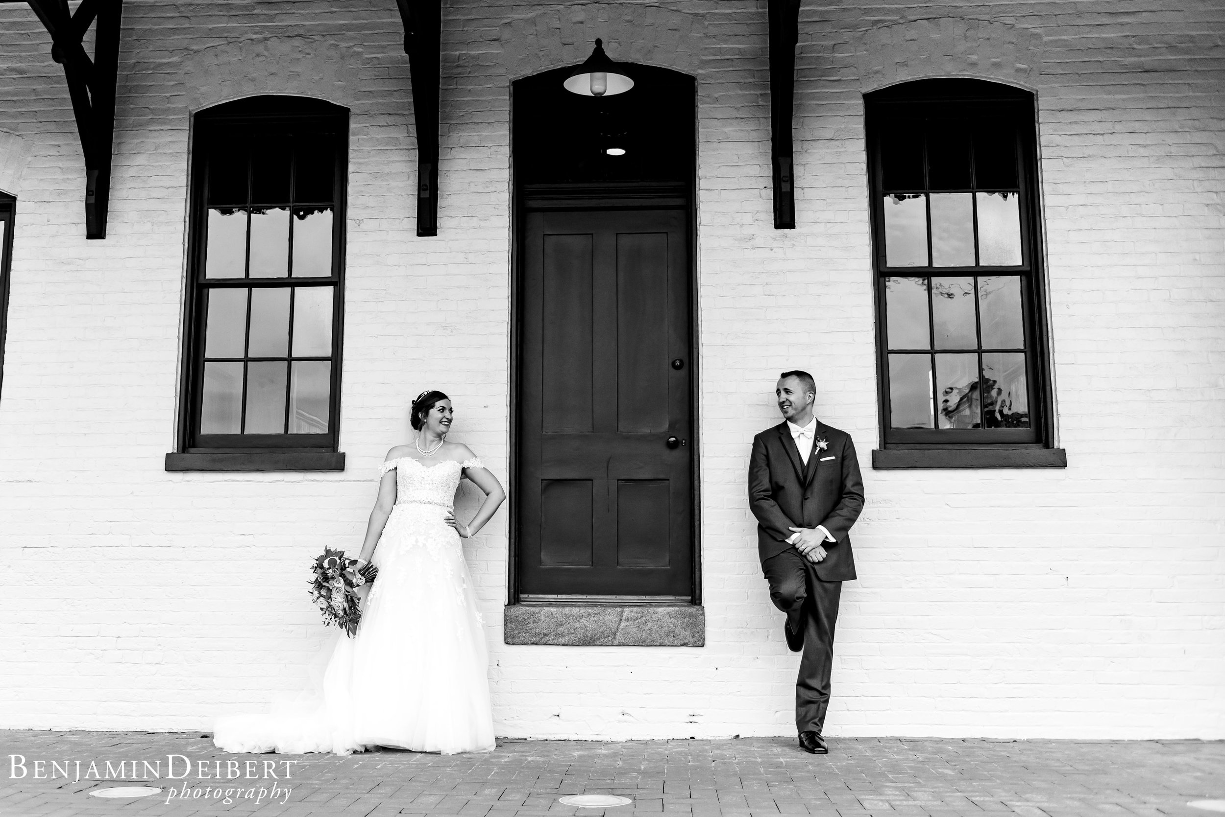 Meighan and Michael_Gettysburg Hotel Train Station_Wedding-2.jpg