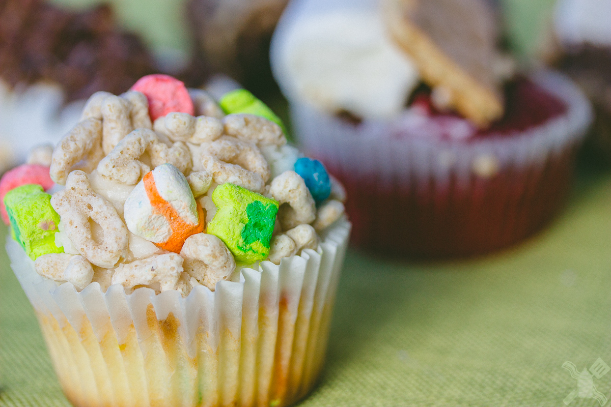 Lucky Charm Cupcake from We The Minis Cupcakery