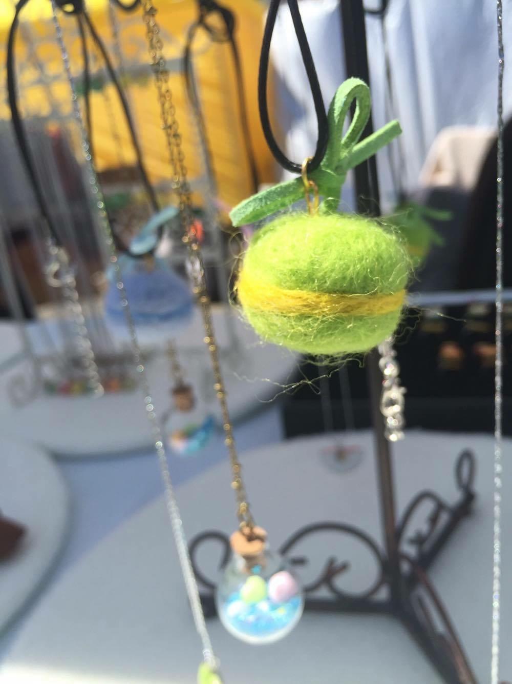 Cute Macaron Necklace!