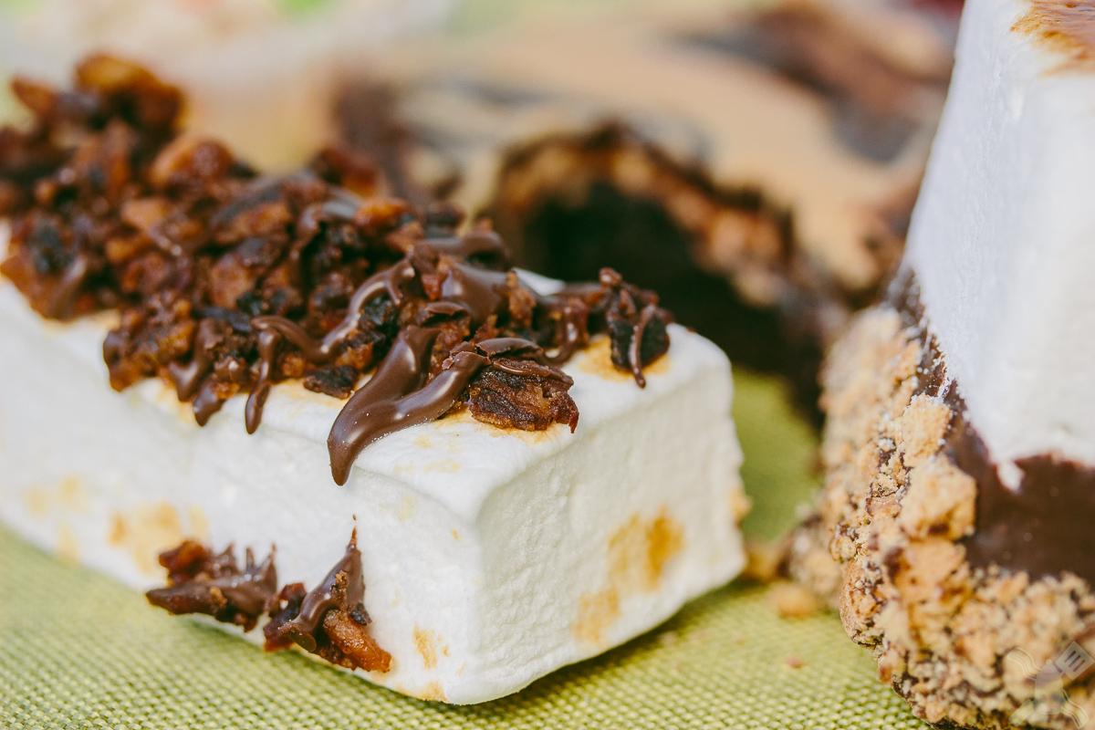 Bacon Marshmallow log!