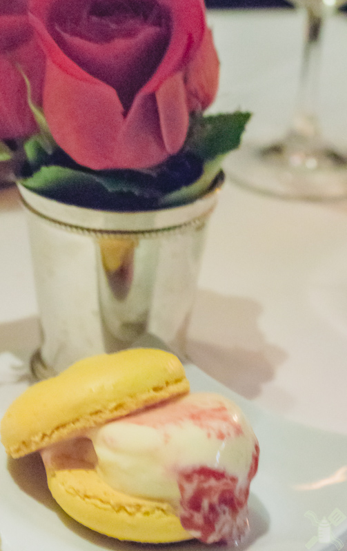 Look at that macaron ice cream cake, I mean who does that??