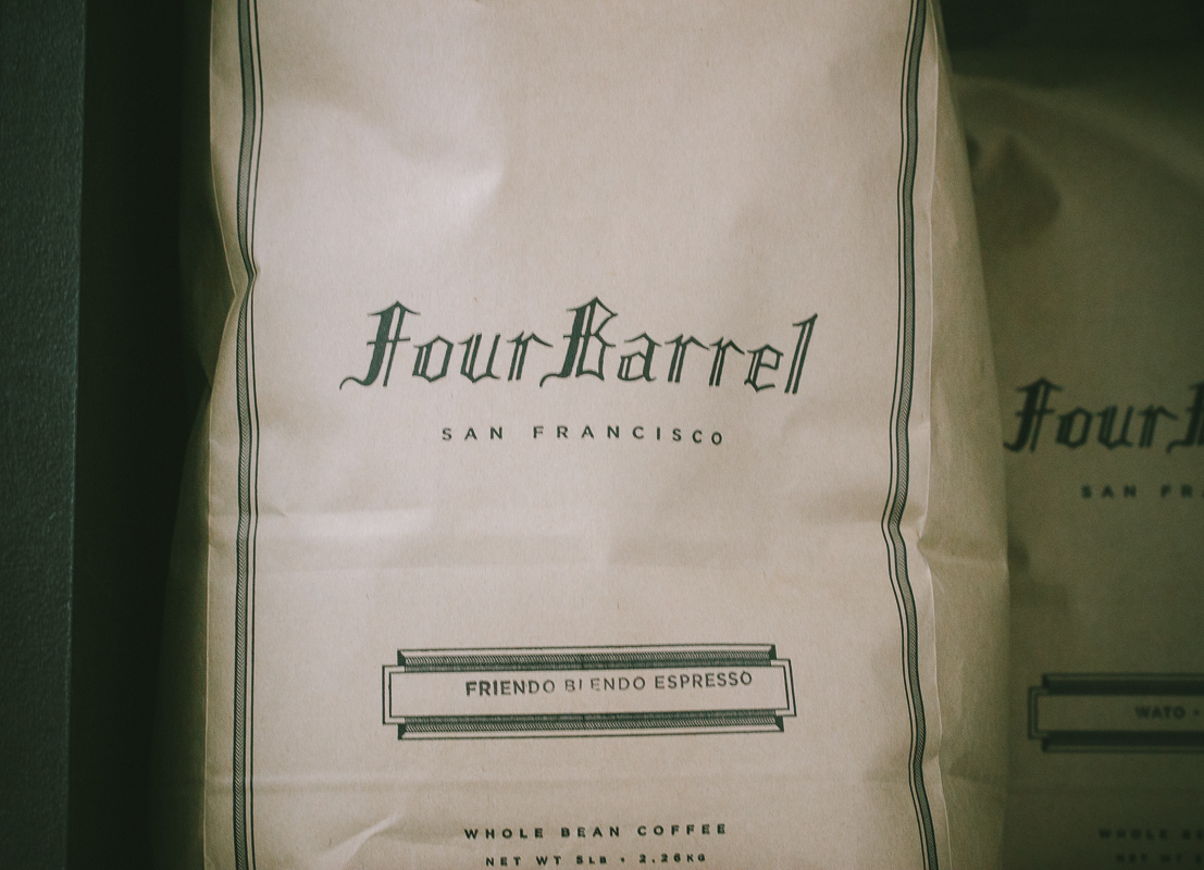 Four Barrel coffee is the best coffee ever!