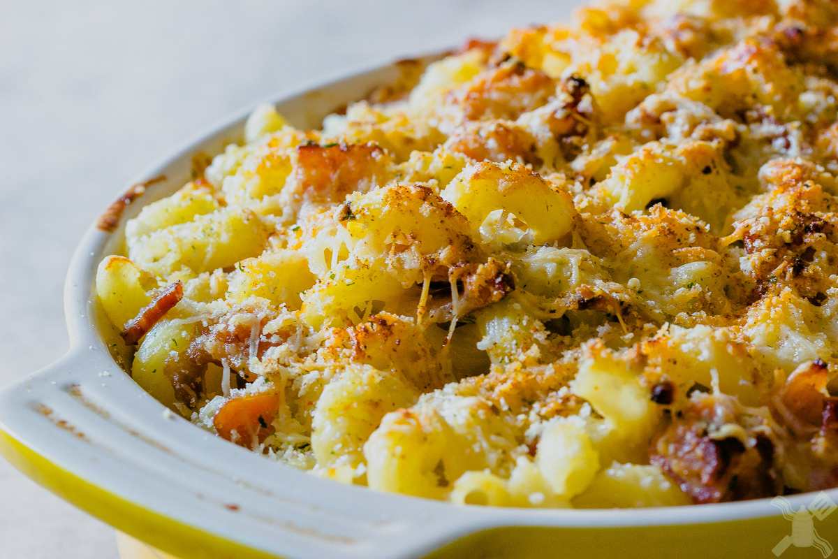 Bacon Mac and Cheese will cure your Monday Blues