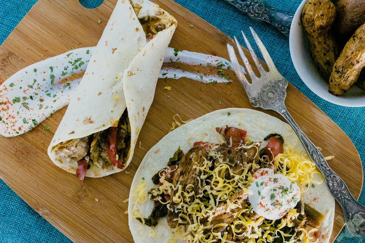 Fajitas are also super simple to make during your busy week!